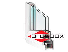 Окна ПВХ Brusbox (Брусбокс)