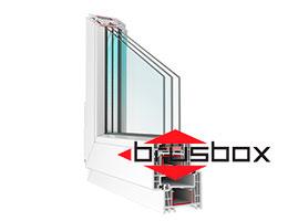 Окна BRUSBOX-70-6