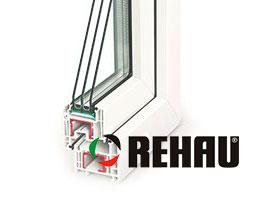 Окна ПВХ Rehau Delight-design